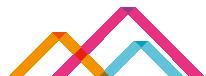 KAL logo coloured ribbon