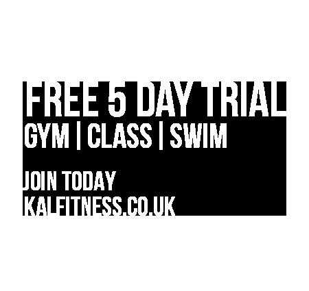 5 Day Free Trial Fitness Membership Offer November/December