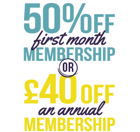 April Fitness Offer Direct Debit and Annual membership