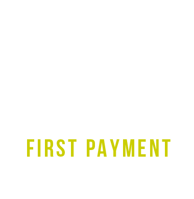 First Payment Half Price 12 month DD Membership july-aug